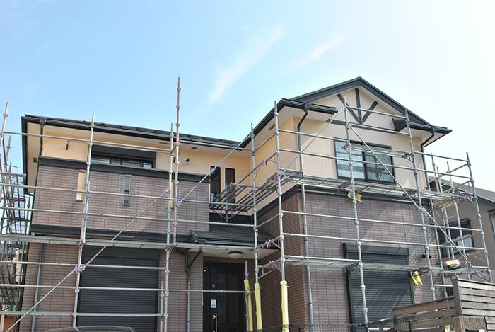 住宅の工事準備